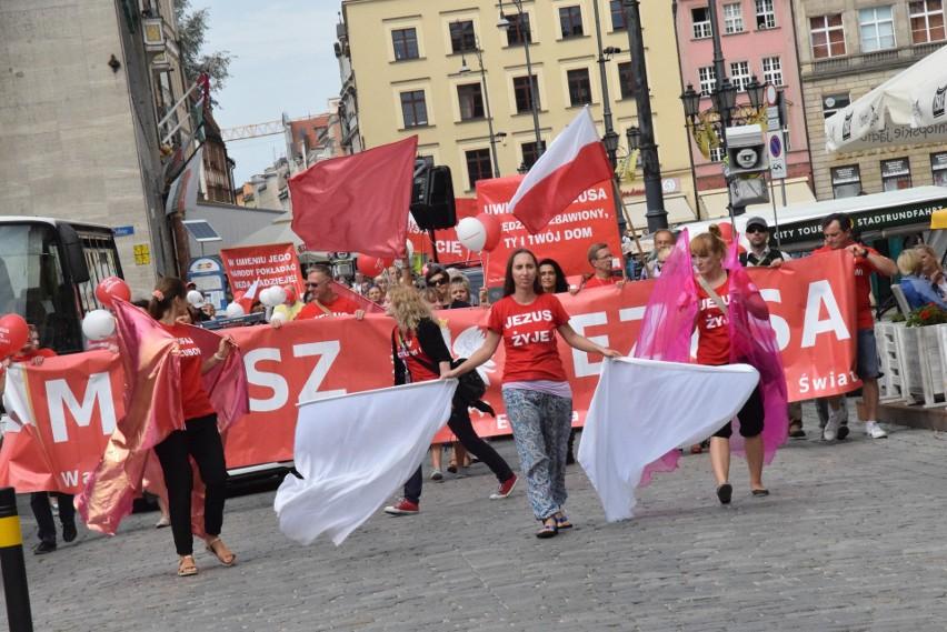 Marsz dla Jezusa przeszedł ulicami Wrocławia