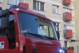 Ul. Dojnowska. Pożar bloku. Ewakuowano mieszkańców