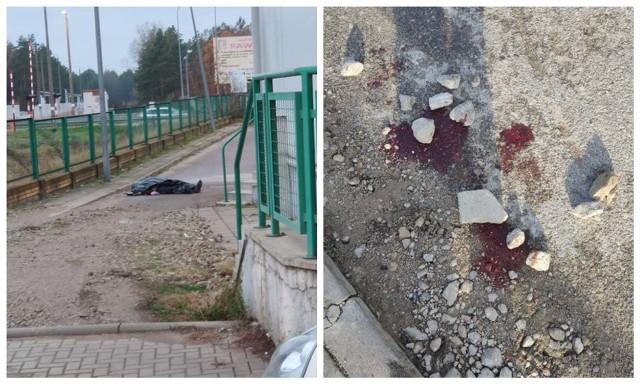 Zwłoki mężczyzny przy Stokrotce w Białymstoku. W pobliżu znajdowały się ślady krwi. Sprawę bada prokuratura