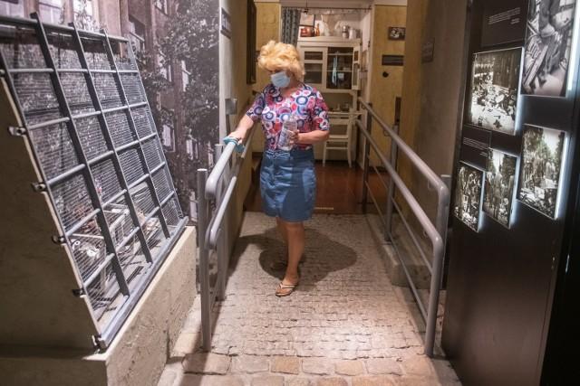 W Muzeum Powstania Poznańskiego - Czerwiec 1956 trwają przygotowania do otwarcia.