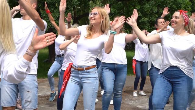 Grupa nowosolan SOLdance zatańczyła nowy taniec. Wyszło równie pięknie, jak podczas przygotowania Jerusalemy