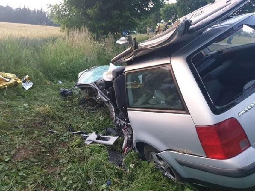 Tragiczny wypadek w Borczu 21.06.2020 r. Rodzina potrzebuje pomocy, trwa zbiórka [ZDJĘCIA]