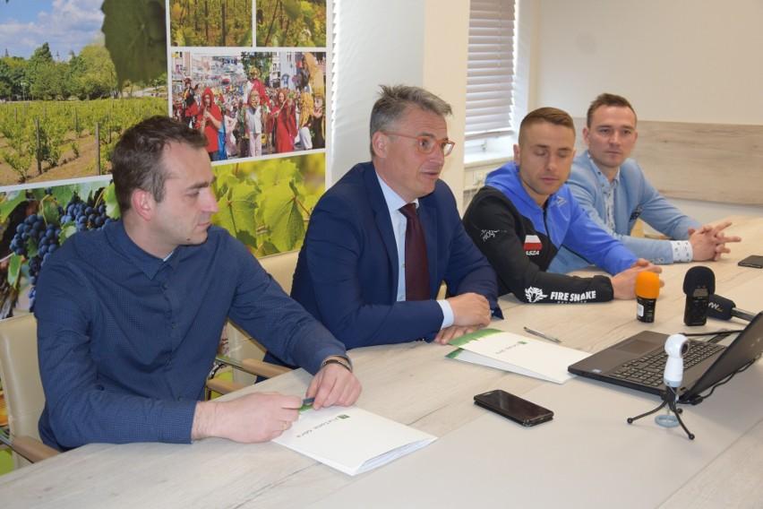 Konferencja prasowa (18.04.) w sprawie biegu Eliminator OCR....