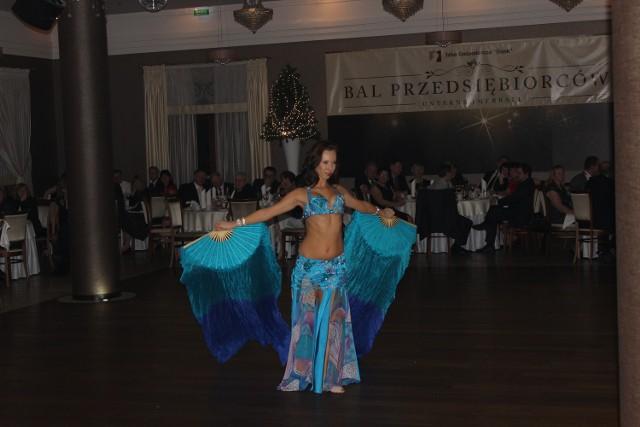 Bal przedsiębiorców Izby Gospodarczej Śląsk 2014Główna atrakcja Balu – pokaz tańca orientalnego w wykonaniu Tatiany.