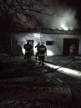 Gmina Słomniki. Pożar budynku gospodarczego. Zagrożony ogniem był dom