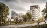 W centrum Bydgoszczy nad Brdą ruszyła budowa osiedla Urzecze [wizualizacje]