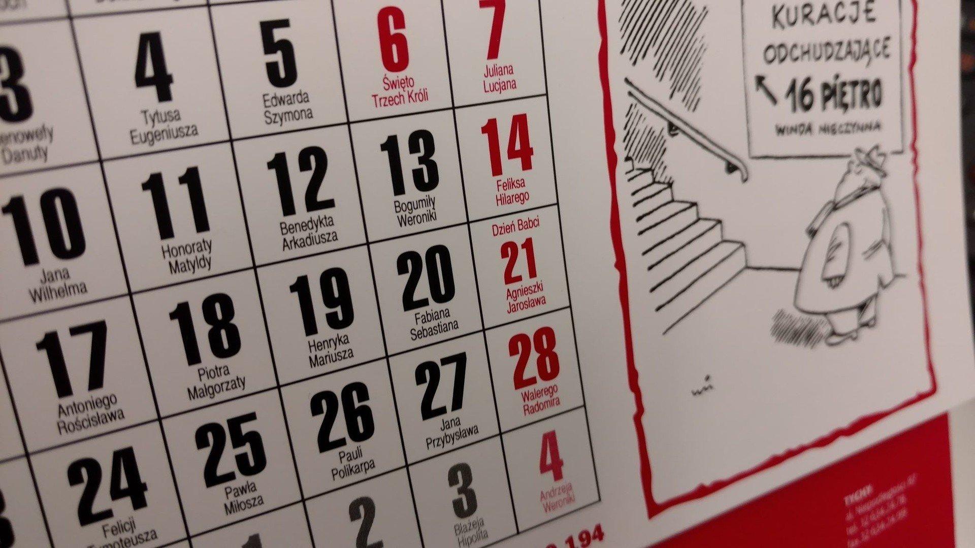 Dni Wolne 2019 Kalendarz Aż 10 Dni Wolnego Ekstra Majówka 2019