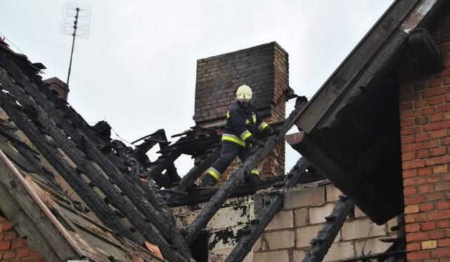 Pożar przedszkola w Kąkolewie