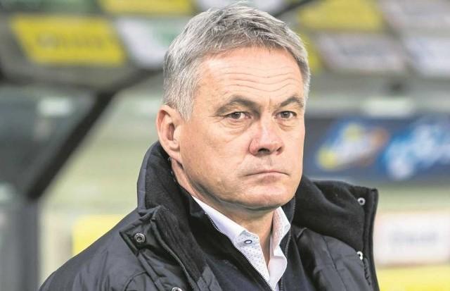Pod wodzą Jacka Zielińskiego Cracovia jesienią w lidze wygrała 4 mecze, 9 zremisowała i 7 przegrała