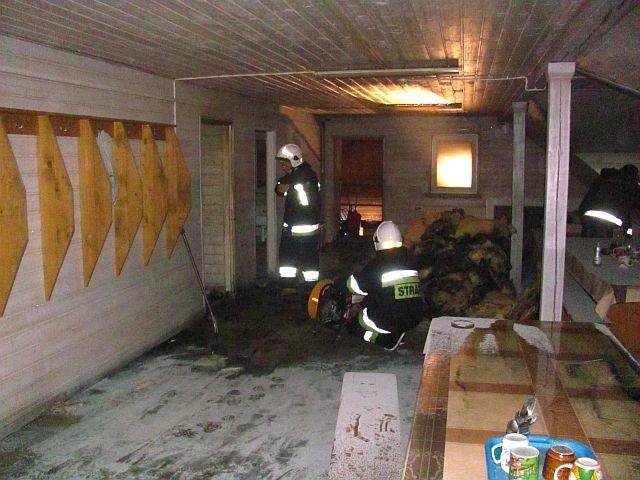 20 stycznia 2017 r. o godzinie 18.30 sokólscy strażacy otrzymali zgłoszenie o pożarze tartaku w miejscowości Skindzierz, gm. Korycin.