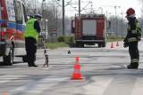 Śmiertelny wypadek na Pilczycach. Pieszy zginął pod kołami samochodu
