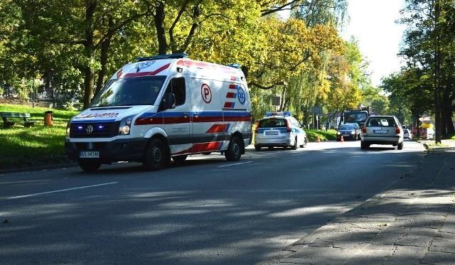 Do wypadku doszło na ul. Kaszubskiej w Słupsku
