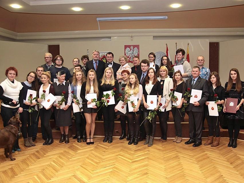 30 wolontariuszy nagrodzono w grudziądzkim ratuszu...