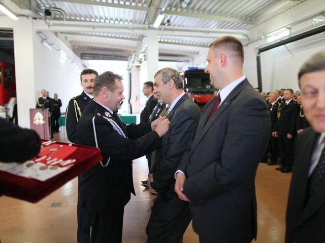 Aleksander Sosna również został odznaczony