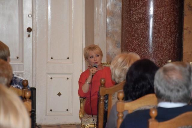 Spotkanie z aktorką w Lubostroniu odbyło się w ramach 35. Tygodnia Kultury Chrześcijańskiej
