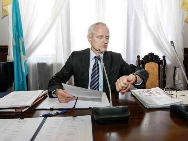 Andrzej Dec, radny PO, przewodniczący Rady Miasta Rzeszowa.