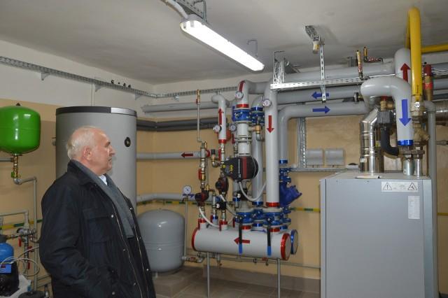 Instalacja gazowa w SP nr 2 w Proszowicach