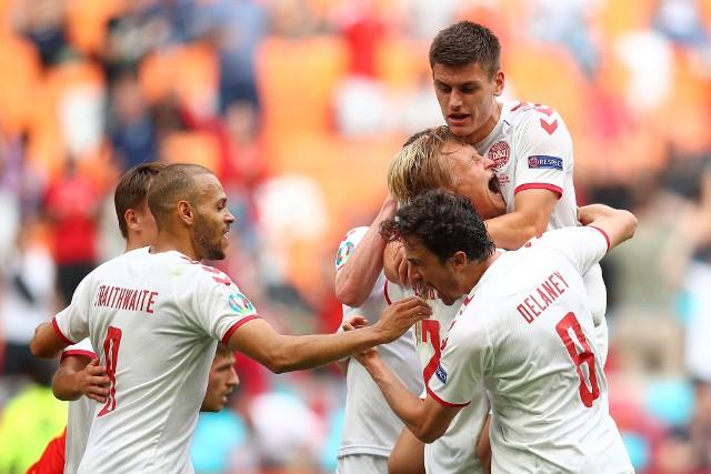 Euro 2020. Mecz Walia - Dania 0:4