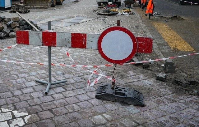 Inwestycja na Górze Przemysła zamknęła ulicę dla ruchu na dwa dni