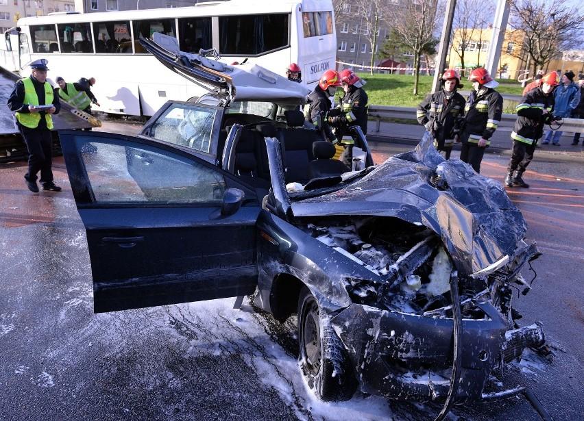W wypadku w Gdyni ucierpiało 5 osób