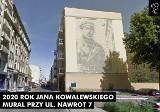 Galeria łódzkich murali wzbogaci się o nowe dzieło poświęcone kryptologowi, ppłk. Janowi  Kowalewskiemu
