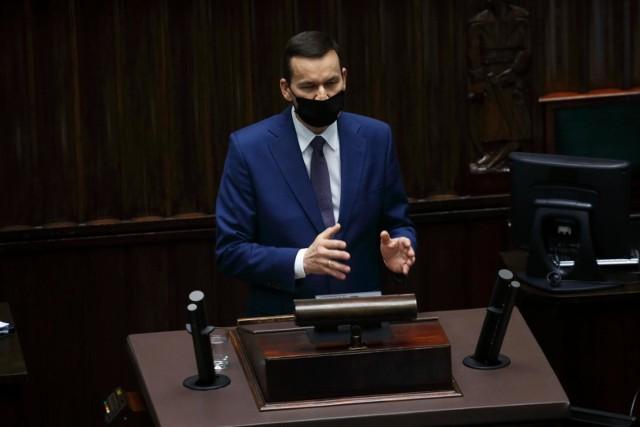 """Premier Mateusz Morawiecki w ostrym oświadczeniu: """"Od kilku dni mamy w Polsce do czynienia z protestami, które są nie do zaakceptowania"""""""