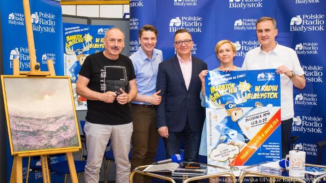 12 godzin śmiechu w szczytnym celu! Już wkrótce Maraton Śmiechu w Radiu Białystok. Dołącz do inicjatywy i pomóż zbudować plac zabaw dla niepełnosprawnych dzieci!