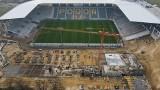 Wiosenny przelot nad stadionem Pogoni Szczecin. Zobacz zdjęcia z drona - 26.03.2021