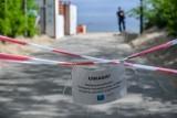 Gdynia. Neutralizacja potężnego ładunku wybuchowego [16.06.2020]. Minerzy podjęli minę i zdetonowali ją trzy kilometry od brzegu