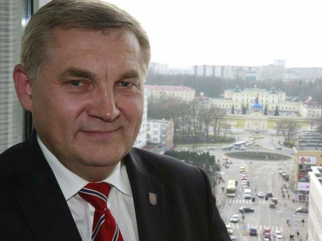 Tadeusz Truskolaski (na zdjęciu) i Jan Dobrzyński będą dyskutować o przyszłości Białegostoku i kierunkach jego rozwoju.