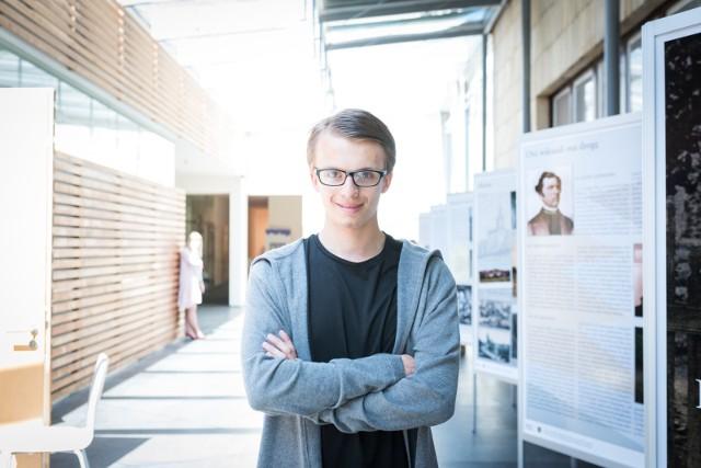 Krzysztof Chęciński z Gliwic ma 19 lat. Już dwa lata temu postanowił założyć firmę.