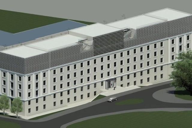 Budynek na Struga będzie podwyższony, aby większość wydziałów mogła się w nim zmieścić.