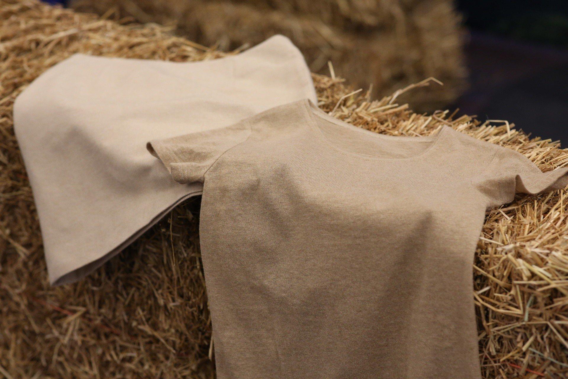 Ubrania Ze Slomy Pszennej Kurtka Spodnica I T Shirt Pierwszy Na Swiecie Ekologiczny Material Wykorzystujacy Slome Juz Jest Dostepny Dziennik Zachodni