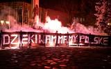 Kibice Czuwaju Przemyśl oddali cześć bohaterom w 102. rocznicę odzyskania przez Polskęniepodległości [ZDJĘCIA]