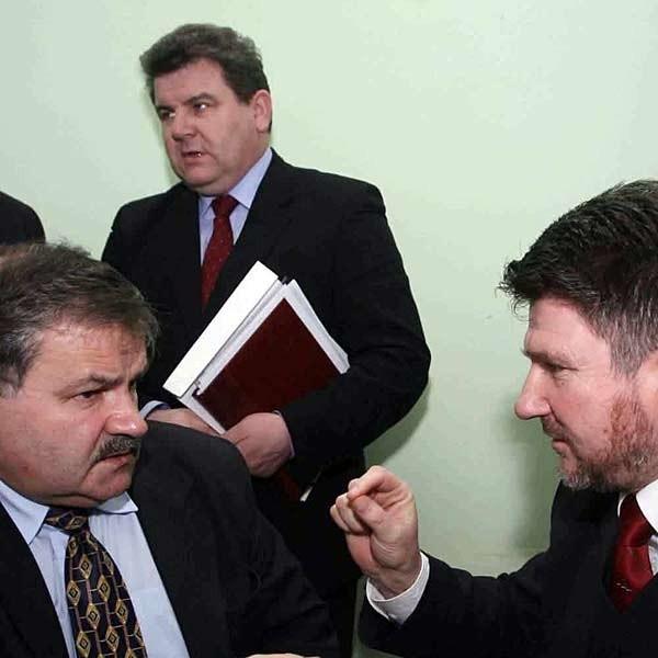 Stanisław Ożóg i Bogdan Rzońca są wskazywani, jako ci którzy mają ochotę wygryźć marszałka Cholewińskiego