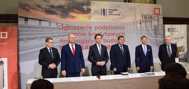 EBI udzielił kredytu długoterminowego na atrakcyjnych warunkach spółce celowej o nazwie Trasa Łagiewnicka SA