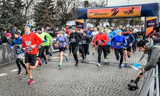 Dziś od rana z okazji urodzin miasta odbywały się imprezy biegowe. Wzięło w nich udział ponad 2,5 tysiąca zawodników.