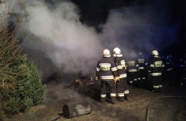Akcja gaśnicza w Kostowie