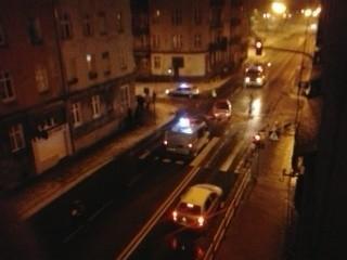 Pijany kierowca audi spowodował kolizję na ul. Wolności w Słupsku.