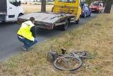Śmiertelne potrącenie rowerzysty w Zabartowie [nowe informacje]