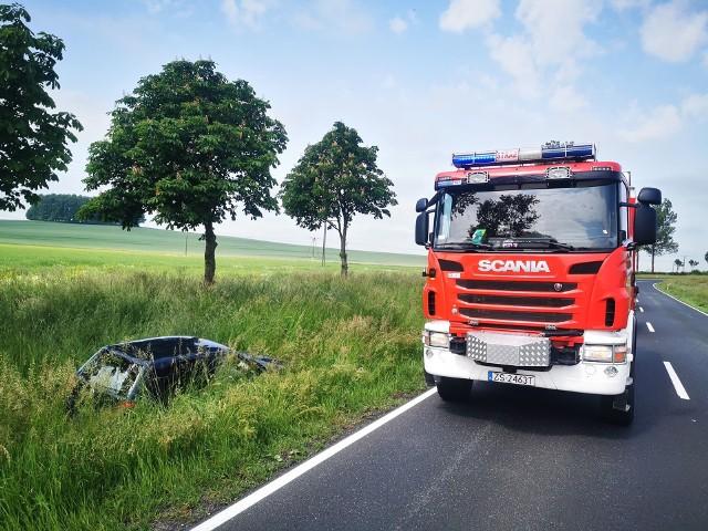 Wypadek na krajowej 11 pod Koszalinem