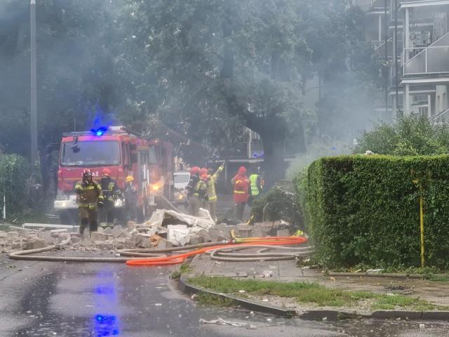 Ekspertyza biegłego, który ma ustalić przyczyny wybuchu przy ul. Wybickiego w Toruniu powinna być gotowa za kilka tygodni