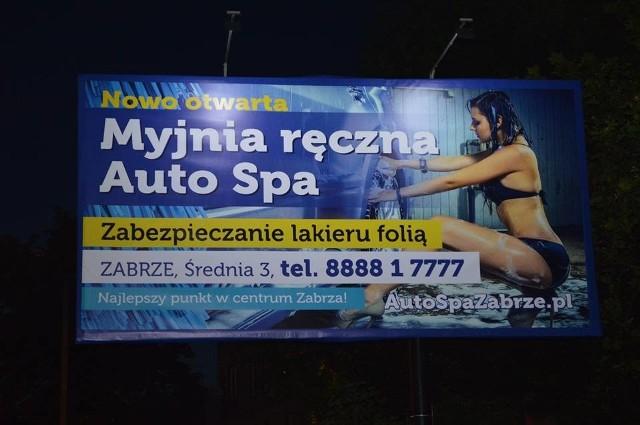 Baner samochodowej myjni został uznany za niezgodny z Kodeksem Etyki Reklamy