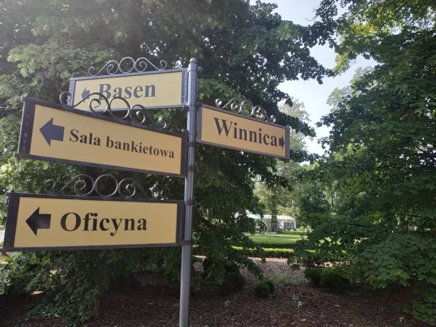 Pałac Wiechlice, tu winnica jest jedną z wielu atrakcji dla...