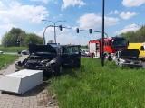 Lublin. Dwanaście wypadków i dwunastu rannych. Strażacy podsumowali weekend na drogach