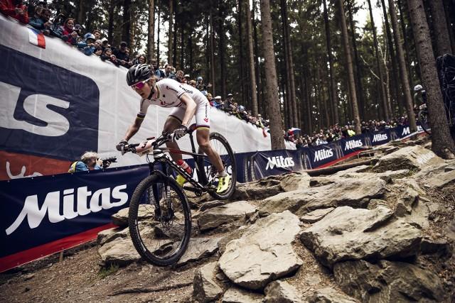 Maja Włoszczowska zajęła czwarte miejsce na pierwszej edycji Pucharu Świata w kolarstwie górskim
