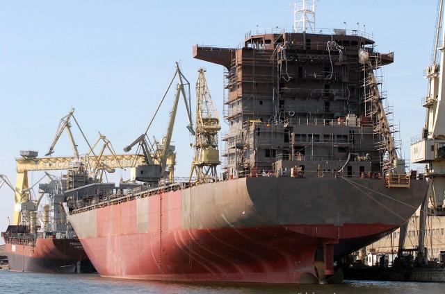 To jedne z ostatnich zwodowanych przez SSN statków. Fot. Marcin Bielecki