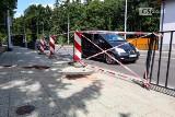 Ulica niewinna. To kierowcy przesadzili rozbijając się na ul. Arkońskiej w Szczecinie