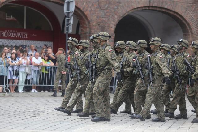 W uroczystości zaprzysiężenia wziął udział prezydent RP Andrzej Duda. Dziękował zebranym, w tym mieszkańcom Katowic i rodzinom żołnierzy, które przybyły do Nikiszowca, ale specjalne podziękowania skierował do zaprzysiężonych szeregowców.