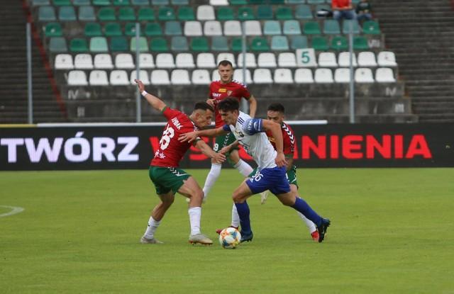 Zagłębie Sosnowiec - PGE Stal Mielec 0:3.